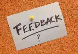The Form, From & Function of Feedback